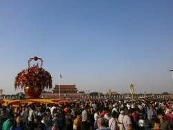 Beijing - Día Nacional de China en la Plaza Tiananmen