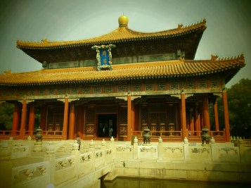 China's National Day - Beijing - Templo de Confucio