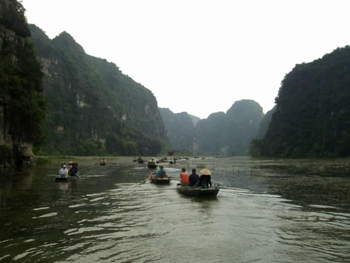 Ninh Binh - Paseo en barca