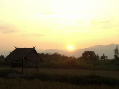 Laos - Muang Sing en bicicleta