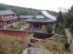 Wu Wei Si - Un parte del templo