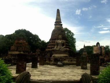 Tailandia 72 Sukhothai - Sukhothai, the ancient capital of Thailand