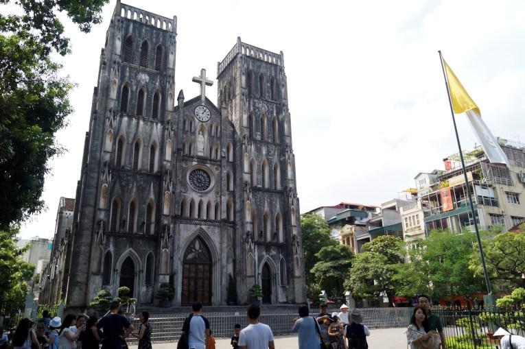 Vietnam Hanoi Catedral de San José - Barrio antiguo de Hanoi: Top 5 lugares que visitar