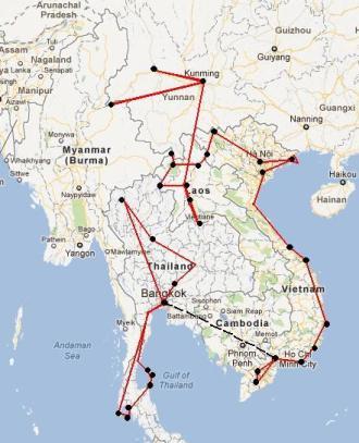 viaje6 1 242x300 - 4 Posibles Rutas para Viajar por el Sudeste Asiático