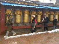 Sichuan - Rueda de oración de Litang