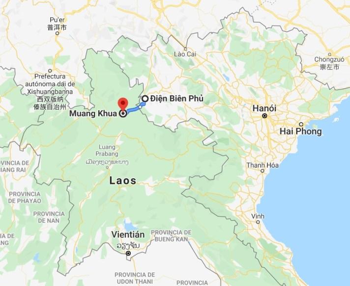 Frontera Vietnam Laos - Frontera Vietnam - Laos: de Sapa a Muang Khua en autobús