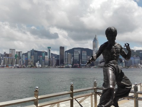 Hong Kong in 3 days - Bruce Lee