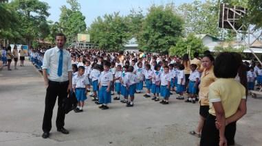 Tailandia - Primer día de clase
