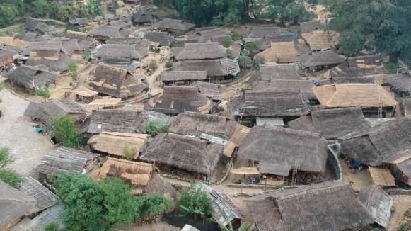 Wending Vista aérea 3 - Wengding, la última aldea tribal de China
