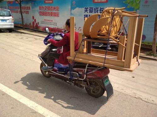 Curiosidades de China - Moto eléctrica