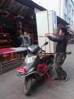 Curiosidades de China - Todo cabe en una moto