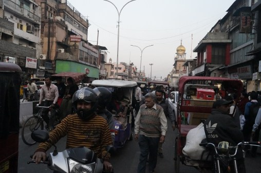 El caótico bazar Chandni Chowk - Top 5 places to see in New Delhi