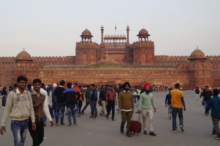 India Delhi Fuerte Rojo 1 500x333 - Top 5 places to see in New Delhi