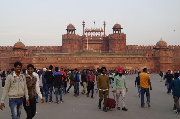 India Delhi Fuerte Rojo - Los Mejores Lugares que ver en Nueva Delhi