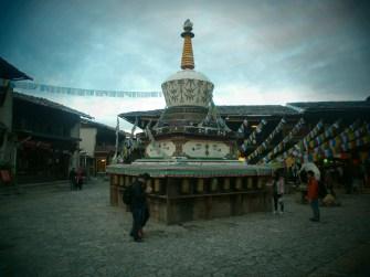 Viaje a Yunnan - Stupa Shangri-La