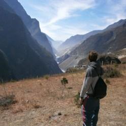 China - Ruta por Yunnan - Garganta del Salto del Tigre