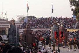 Golden Temple of Amritsar - Wagah - Frontera con Pakistán