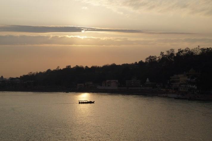 Anochecer Rishikesh