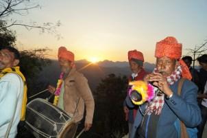 Boda india - Músicos