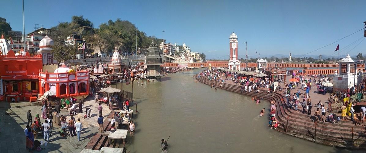 Haridwar Templo Har Ki Pauri Panorámica - Lo mejor de Haridwar: que ver en la ciudad más sagrada de la India