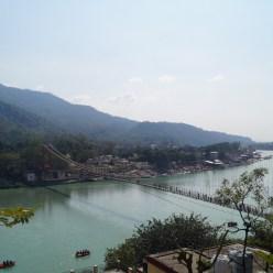 Rishikesh - Vistas desde Tapovan