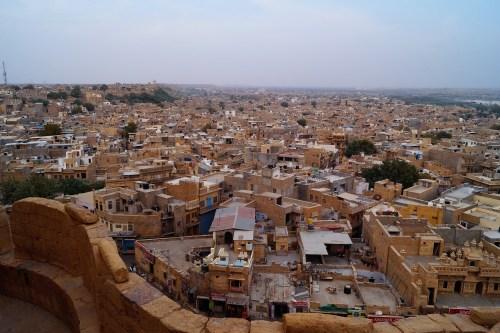 Jaisalmer - Vistas desde el Fuerte de Jaisalmer