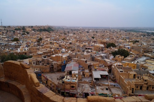 Viaje a Jaisalmer - Vistas desde el Fuerte de Jaisalmer