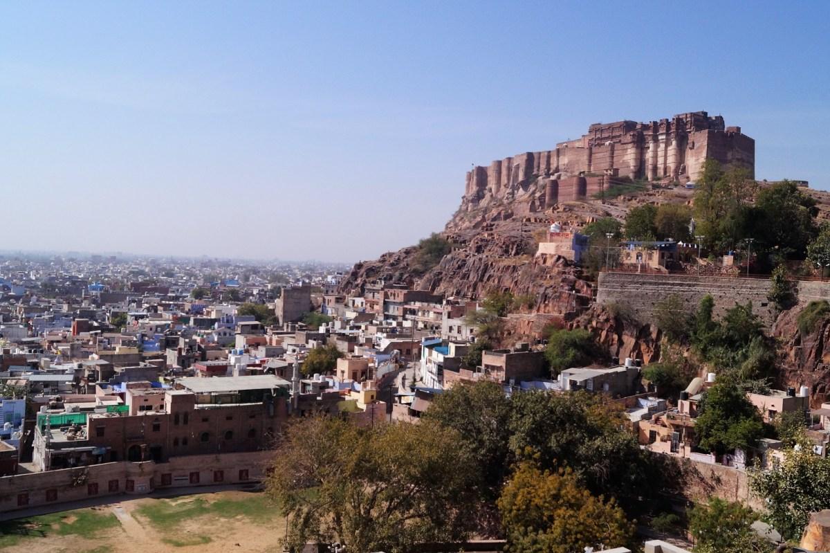 Jodhpur, la Ciudad Azul y el Fuerte de Mehrangarh