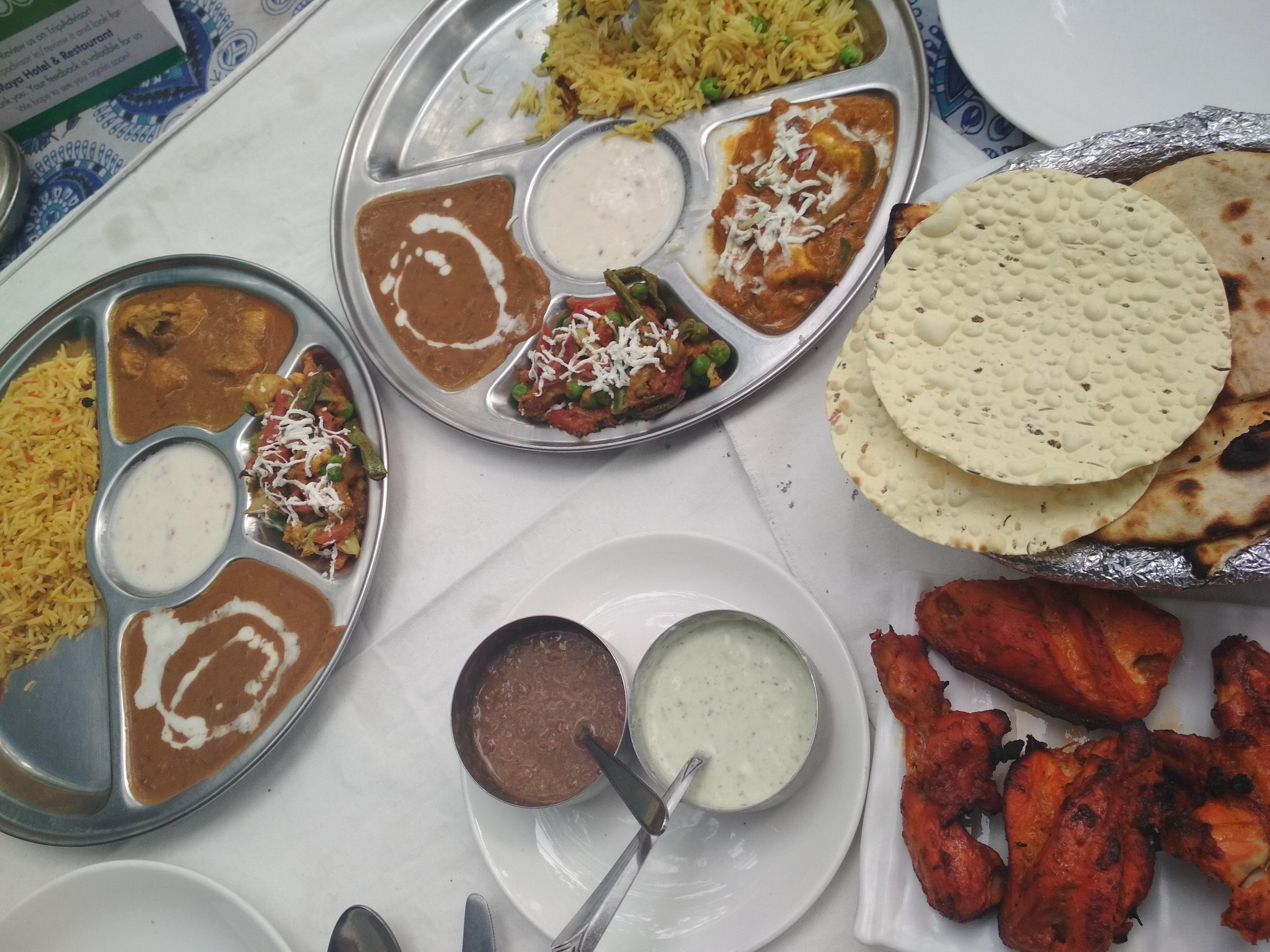 Comida India - Thali Agra