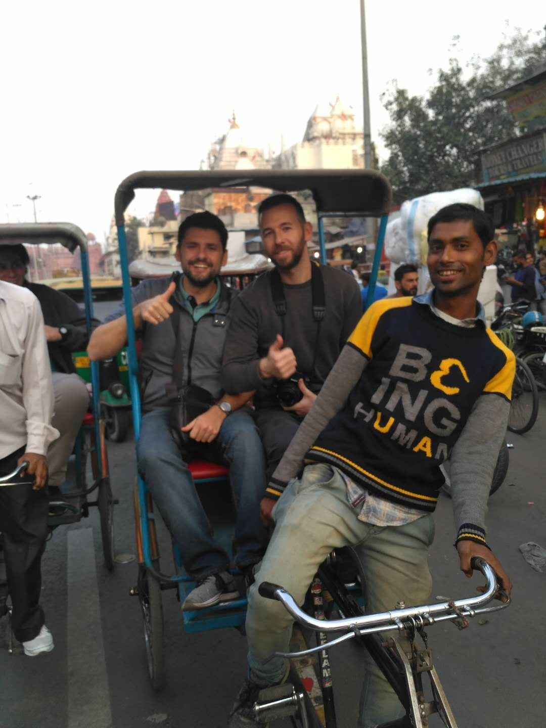 India Delhi Bazar Chandni Chowk - Travel tips for India and country's curiosities