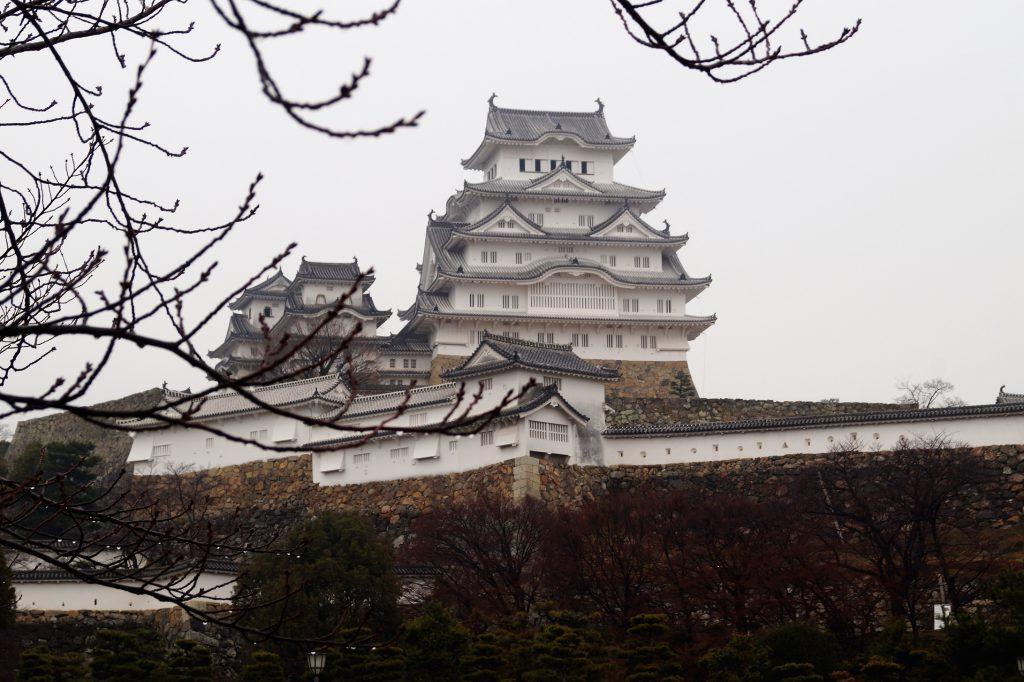 Japón - Castillo de Himeji - Edificio Principal