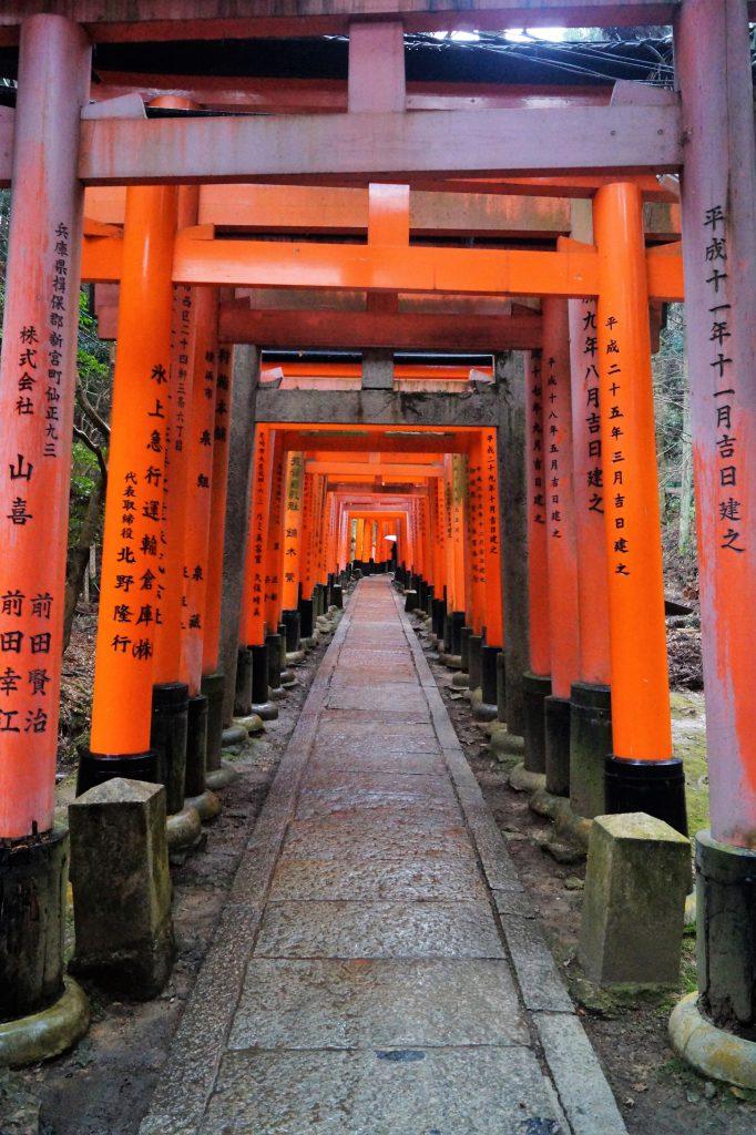 Kioto - Fushimi-Inari Taisha - Camino de Toriis