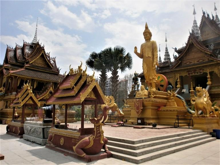 Viaje a Yunnan - Templo de Xishuangbanna
