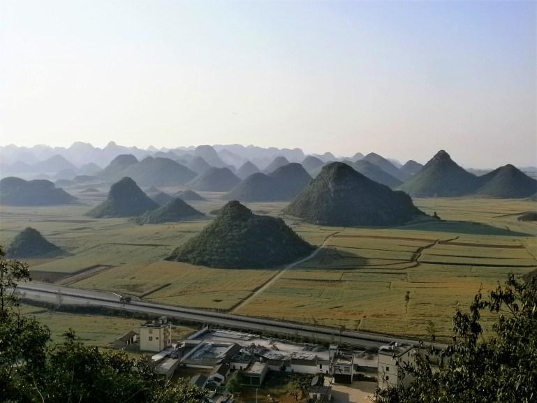 Guía de Yunnan - Colinas de Luoping