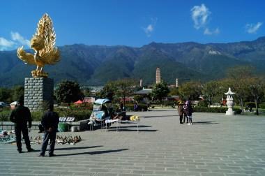 Antigua ciudad de Dali - Tres Pagodas de Dali