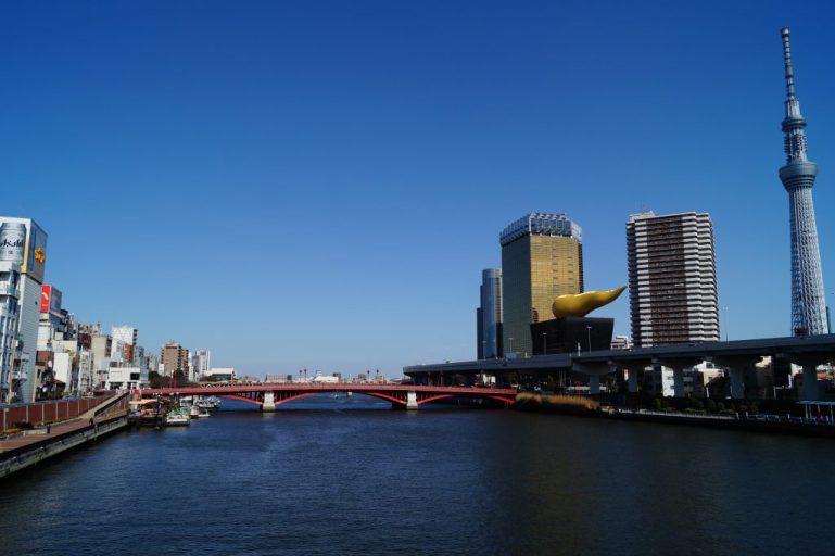 Tokio en 4 días - Asakusa - Río Sumida