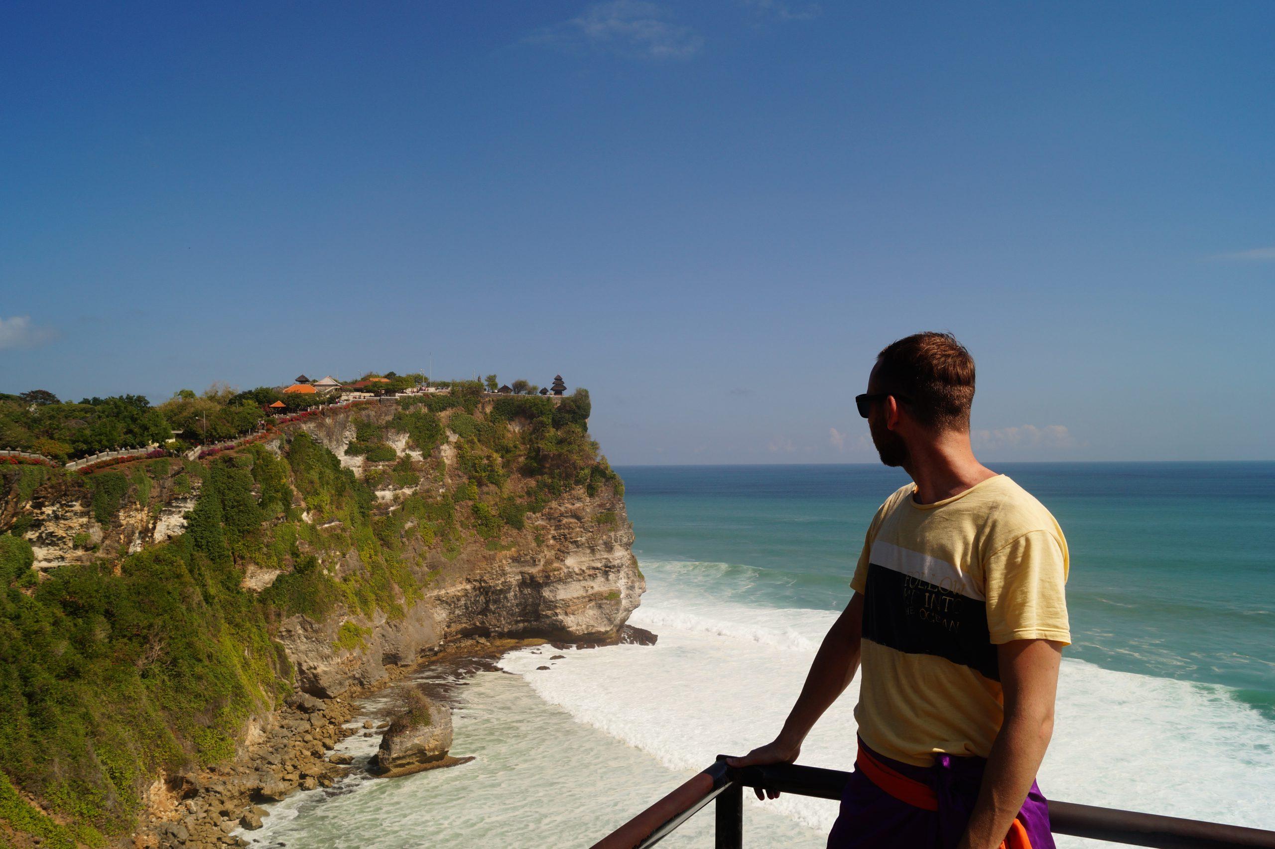 Bali Templo Uluwatu Vistas scaled - El Templo Uluwatu y las mejores playas de sus alrededores