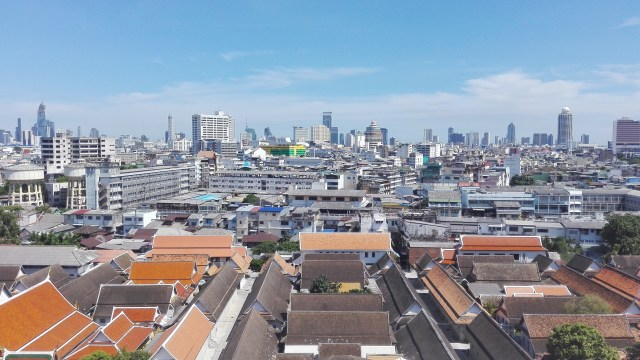 Bangkok The Golden Mountain Wat Saket Viewpoint 500x281 - Best travel tips for Thailand on a trip on your own
