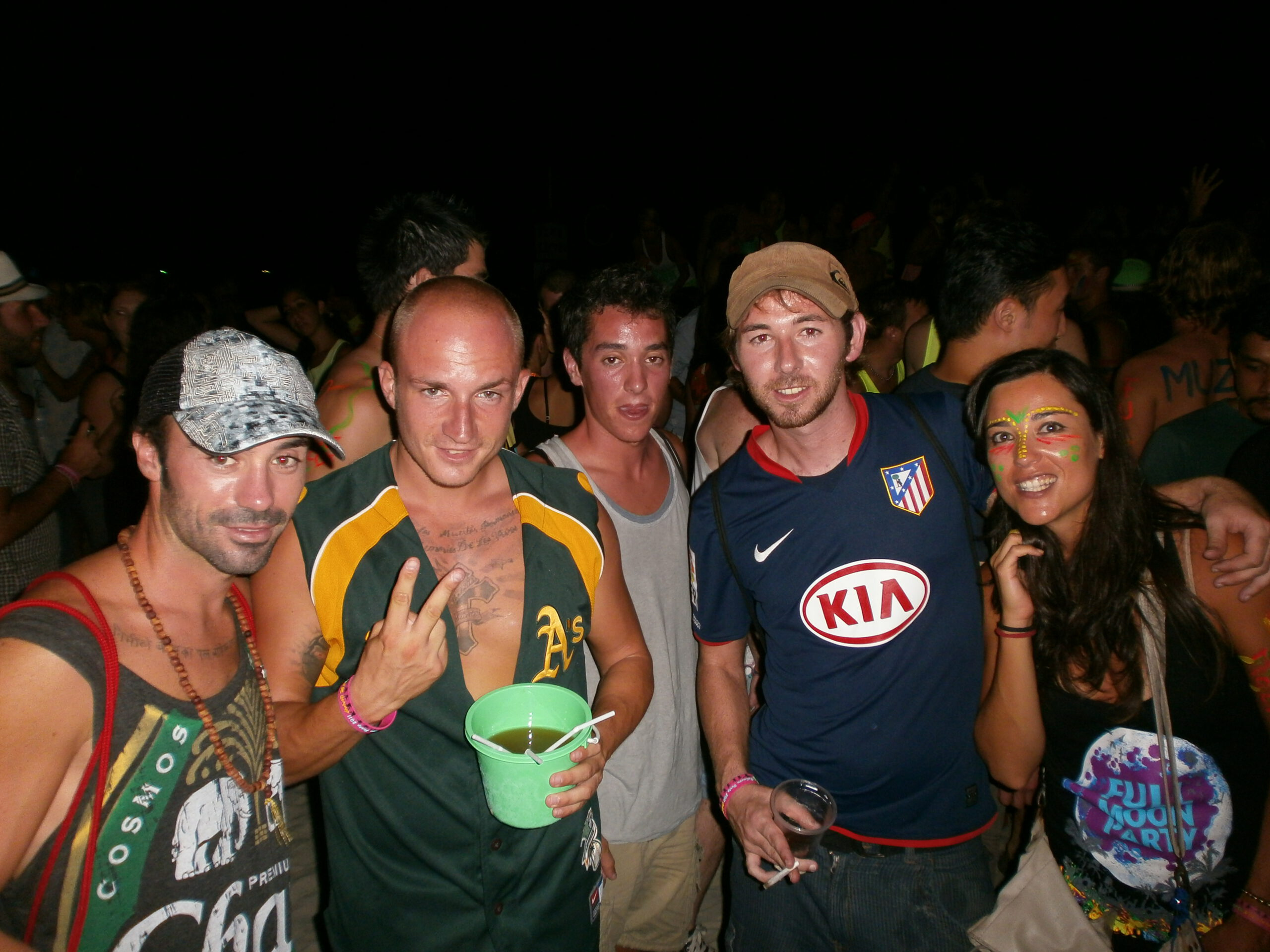Tailandia 131 Koh Phangyan Full Moon Party scaled - Gulf of Thailand: Guide to the best islands