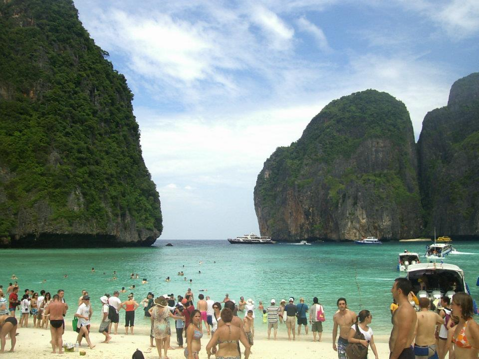 Tailandia 91 Kho Phi Phi - Koh Phi Phi, the most famous beach in the world
