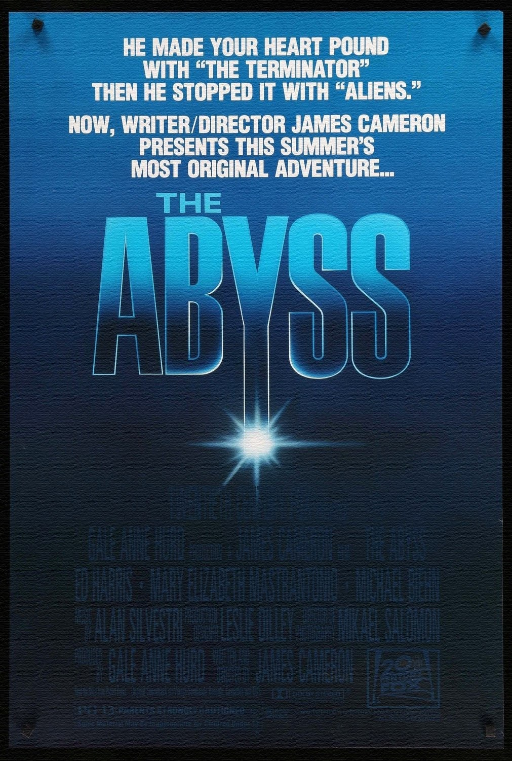 The Abyss film poster
