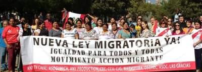 REPORTAJE TRABAJADORES MIGRANTES - mam y nva ley migratoria