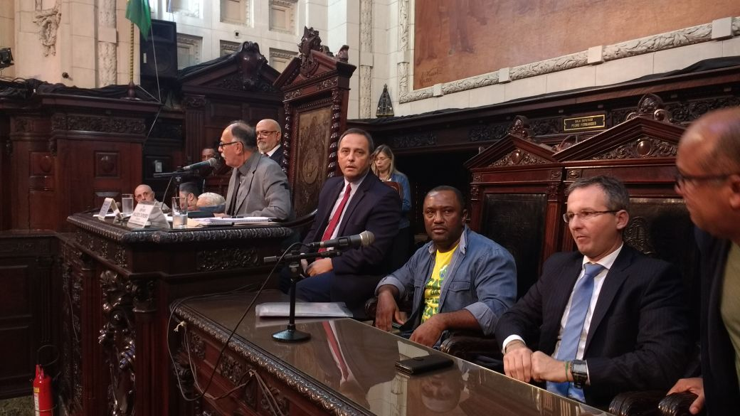 Audiência pública na ALERJ contra as privatizações