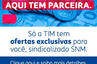 Sindicato realiza parceria com a TIM em benefício dos moedeiros