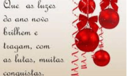 Mensagem de ano novo, Aluízio Júnior, presidente do SNM