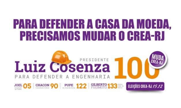 Eleições no CREA e a defesa da CMB!