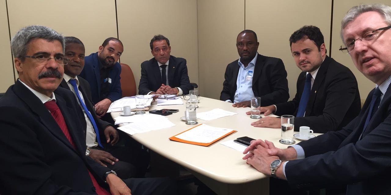 Diretoria do SNM realiza reunião com a coordenação da frente parlamentar mista em defesa da Casa da Moeda do Brasil