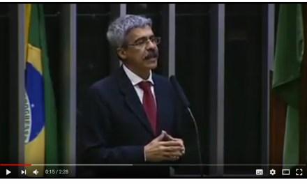Deputado Luiz Sérgio (PT-RJ) faz discurso na Câmara a favor da Casa da Moeda do Brasil