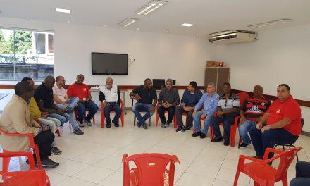 Diretoria do SNM recebe em sua sede a presença do Dep Fed Luiz Sérgio