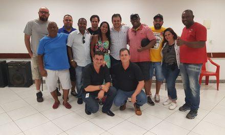 SNM e categoria Moedeira receberam o Deputado Federal  Glauber Braga